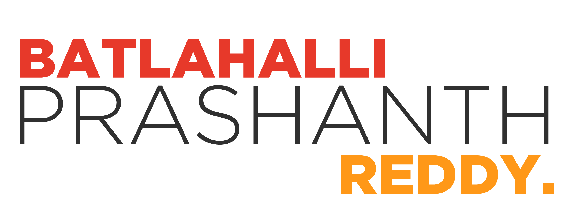Batlahalli Prashanth Reddy