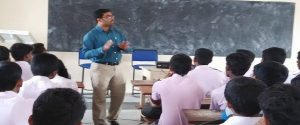 Conducting Employment Awareness Program in Pragathi College of management Sciences