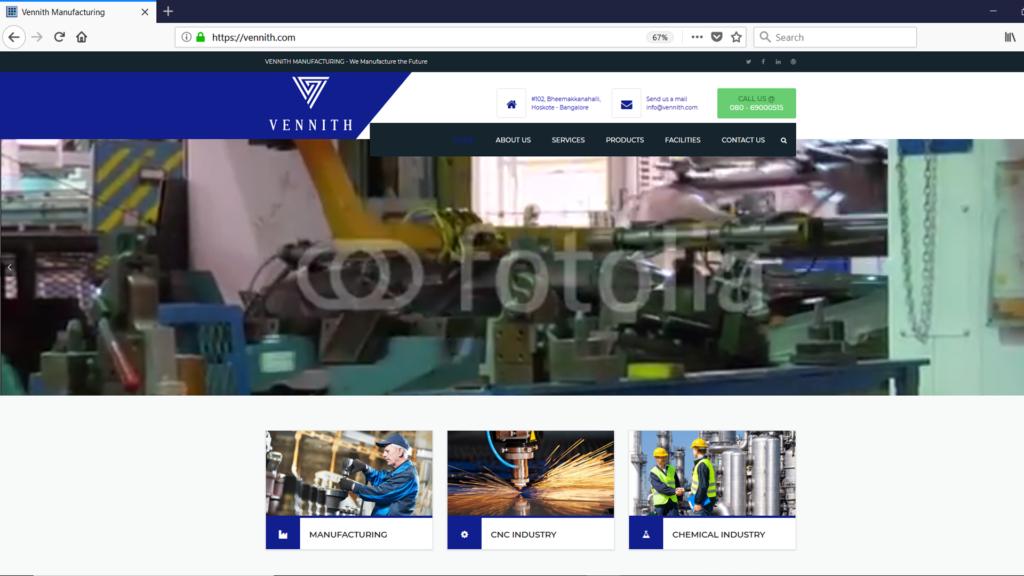 Vennith-Manufacturing - Batlahalli Prashanth Reddy